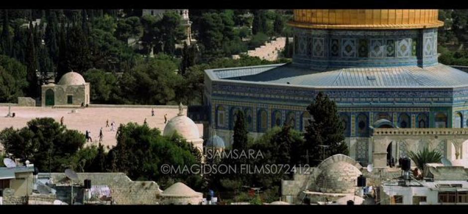Clip of Lisa Gerrard vocals over footage of Jerusalem in SAMSARA